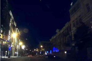 Neblaivus vairuotojas Vilniaus centre apgadino penkis automobilius