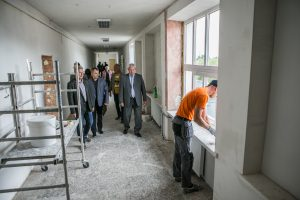 Klaipėdos švietimo įstaigose – remonto įkarštis