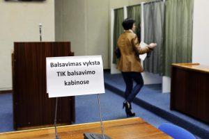 Premjeras: tiesioginiams merų rinkimams Lietuvoje buvo nepasiruošta