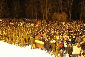 Į žygį Klaipėdos sukilėlių keliais išsirengė per pusantro tūkstančio patriotų