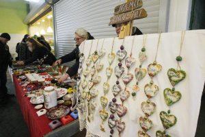 Senajame Klaipėdos turguje – Užgavėnių nuojauta
