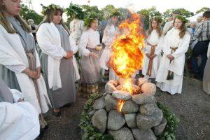 Klaipėdiečiai griausmingai šventė Jonines