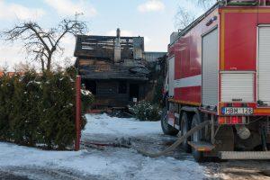 Po gaisro kauniečiai liko be namų (papildyta)