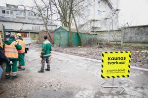 Kauno valdžia nelegaliems garažams paskelbė karą