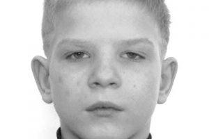 Prašo pagalbos: Vilniuje dingo berniukas