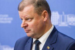 Premjeras neprivalės per 15 dienų teikti ministrą į laisvą vietą