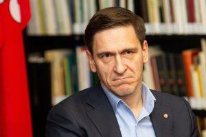 D. Kreivys įspėja: gresia prarasti ES paramą Nacionaliniam stadionui