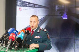 Komisaras policininkams siūlo vieną papildomą laisvadienį per metus