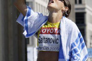 K. Saltanovič – Europos veteranų sportinio ėjimo čempionė