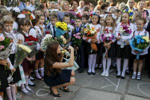 Rytų Ukrainos mokyklų kelias į pokyčius veda per Vilnių