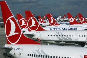 """""""Turkish Airlines"""" atšaukė skrydį iš Stambulo į Vilnių"""
