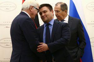 """Rusija: """"Normandijos ketverto"""" derybose dėl Ukrainos pažangos nebuvo"""