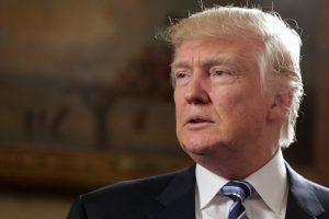 D. Trumpas pažadėjo derėtis dėl laisvosios prekybos su Meksika ir Kanada