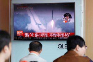 Šiaurės Korėjos atsakas į sankcijas – paleido sparnuotąsias raketas
