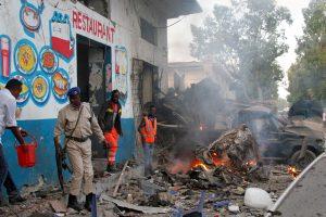 Somalyje per Mogadišo viešbučio ataką žuvo 23 žmonės