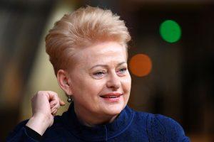 Apklausos: piliečiai labiausiai pasitiki prezidente D. Grybauskaite
