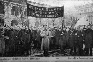 Istorikas: nelaimė, kad per Vasario revoliuciją Lietuva buvo užimta vokiečių