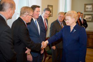 D. Grybauskaitė: transatlantiniai santykiai neturi alternatyvos