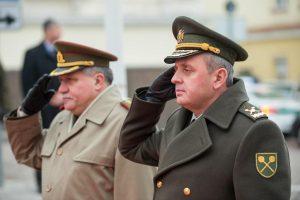 Ukrainos kariuomenės vadas: mes pasirengę ir masinių karinių veiksmų scenarijui