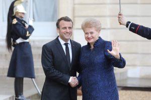 D. Grybauskaitė: tarptautinės teisės griovimas baigiasi labai blogai