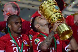 "Vokietijos futbolo taurė atiteko Miuncheno ""Bayern"" komandai"