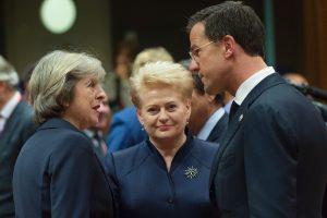 D. Grybauskaitė sveikina Nyderlandus po nuosaikiųjų pergalės rinkimuose