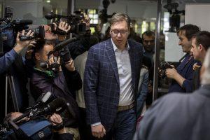 Serbijos premjeras siekia prezidento posto