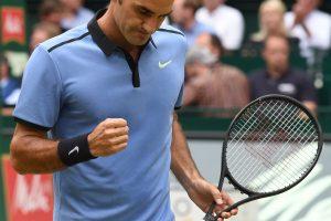 Devintą kartą čempionas: R. Federeris triumfavo Halėje
