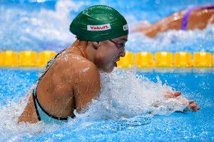 Varžybas Australijoje R. Meilutytė baigė dar vienu sidabriniu finišu