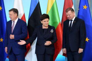 Lenkija ir Baltijos šalys vienijasi dėl pigios darbo jėgos taisyklių ES