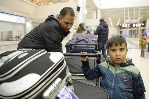 Į Lietuvą pagal ES programą perkelti 15 sirų pabėgėlių