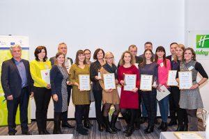 Apdovanotos darbuotojų sveikatą puoselėjančios įmonės