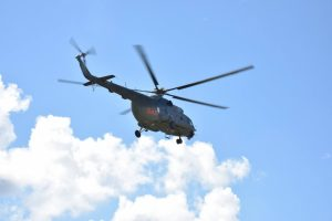 Sraigtasparnis Jonavos rajone ieškojo dingusio moldavo
