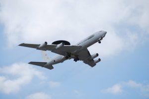 Šiauliuose leisis vienas moderniausių NATO žvalgybos orlaivių