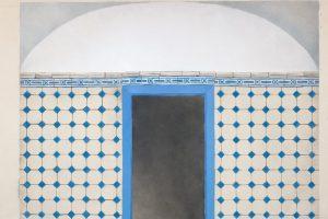 Paroda, atskleidžianti Vilniaus senųjų pastatų grindų dekorą
