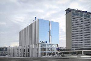 """""""Swedbank"""" skolina 15 mln. eurų viešbučio """"Radisson Blu"""" plėtrai"""