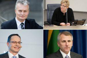 Konservatoriai Lietuvai siūlys kandidatus į prezidentus: ką rinktumėtės?