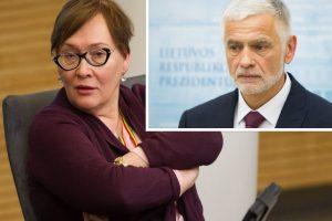 A. Maldeikienė ragina ministrą išsklaidyti įtarimus dėl protegavimo