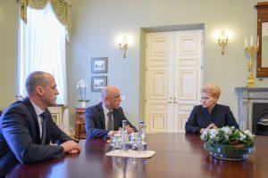 Prezidentė siūlo STT vadovu skirti direktoriaus pavaduotoją Ž. Bartkų