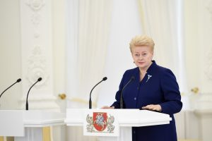 D. Grybauskaitė: valstybės biudžetas – ne pagal išgales