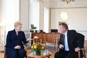 D. Grybauskaitė ES ateitį aptarė su Danijos vadovais