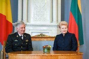 D. Grybauskaitė: Europa bus tiek saugi, kiek bus saugios Baltijos valstybės