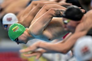 A. Šidlauskui – antras Liuksemburgo plaukimo pirmenybių medalis