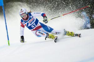 Ketvirtoji JAV kalnų slidininkės pergalė pasaulio taurės varžybose