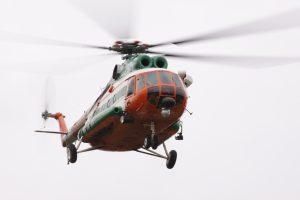 Sraigtasparnis su donoro organais iš Rygos išskrido vėliau