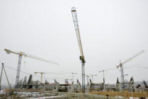 Vilniaus meras su premjeru tarėsi dėl Nacionalinio stadiono statybų