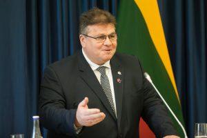 L. Linkevičius: santykiai su Lenkija yra konstruktyvūs
