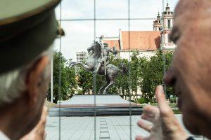 Ministerija priešinasi Seimo sprendimui dėl Vyčio Lukiškių aikštėje
