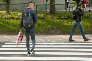 Vilniuje perėjoje partrenkta paauglė