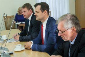 G. Paluckas apie naują partiją: jie dangstosi socialdemokratų vardu